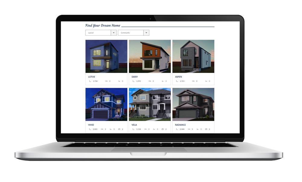 Live Better Homes Website Development Rendering by Magnolias Consulting