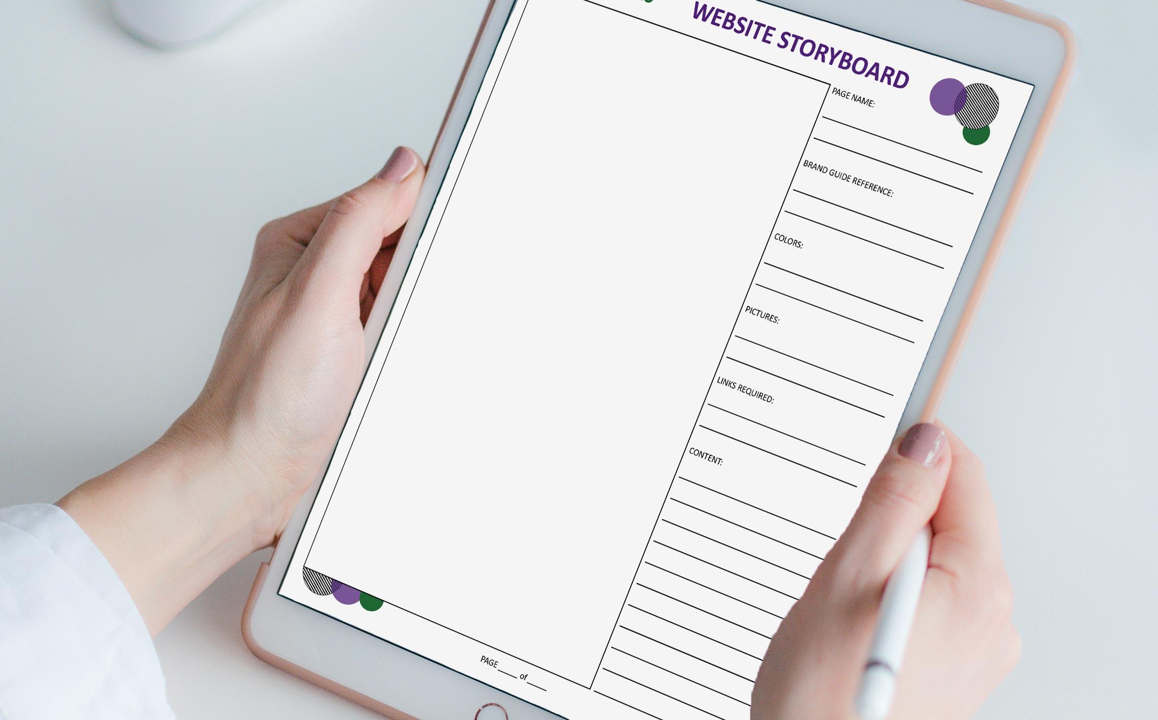 Website Design Planning Template